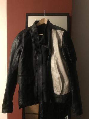 Rick Owens leather jacket RRP £