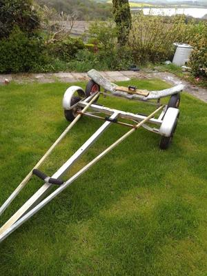 Road Trailer and Launching Trolley for Dinghy