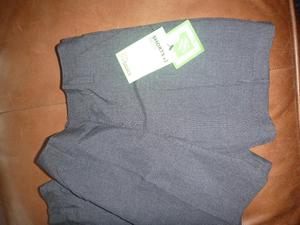 2 PAIRS JOHN LEWIS BOYS GREY SCHOOL SHORTS - NEW AGE 4