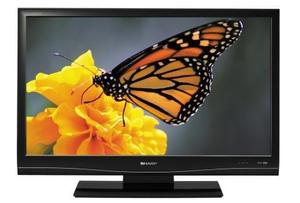 37 INCH SHARP LCD HD TV WITH BUILT IN HD FREEVIEW CHANNELS**DELIVERY IS POSSIBLE**