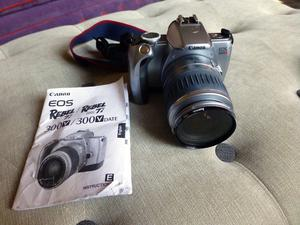 Canon EOS Rebel Ti 300V autofocus single-lens 35mm reflex camera & bag. Owned from new in god cond