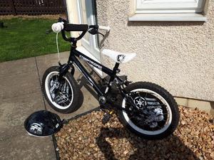 Star wars 16inch bike and helmet