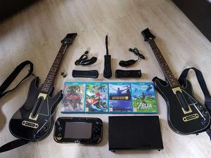 Wii U Zelda Limited Edition, Guitar Hero Live + Games set