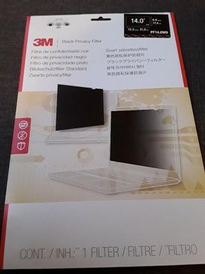 3M Black Privacy Filter