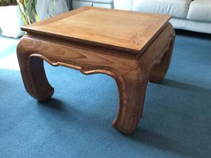Coffee table in Asian teak