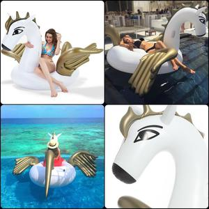 Giant Inflatable Pegasus Swimming Pool Float Outdoor Beach