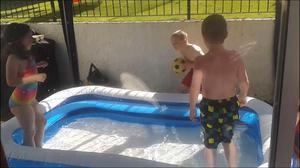 Great rectangular inflatable paddling pool