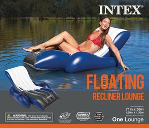 """Intex Inflatable Mega Chill II Cooler Float, 48"""" x 38"""" Intex"""