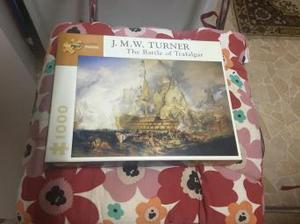 JMW Turner the battle of trafalgar  pieces Puzzle VGC