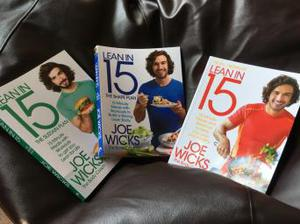 Lean in 15 x 3 Books. Owned but never used so As New.
