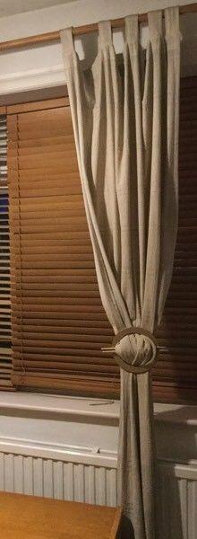 Wooden Venetian Blinds 110cm Width