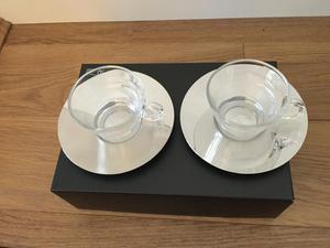 2 Nespresso Cappuccino cups