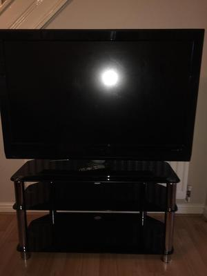 """48"""" Phillips flatscreen hd tv with stand"""