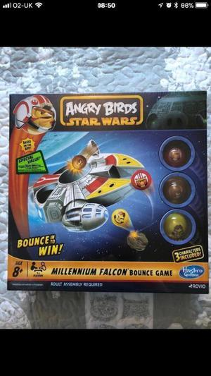 Angry Birds Star Wars Millennium Falcon bounce game - new and still sealed.