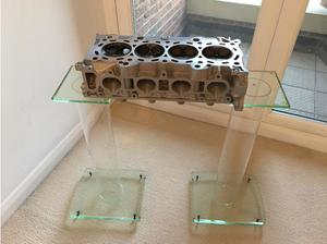 COFFEE TABLE potential! HONDA CIVIC TYPE R CYLINDER HEAD. in