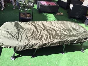 Nash Indulgence Bedchair + Trekker Duotex sleeping bag