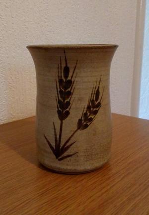 Pottery Utensil Vase