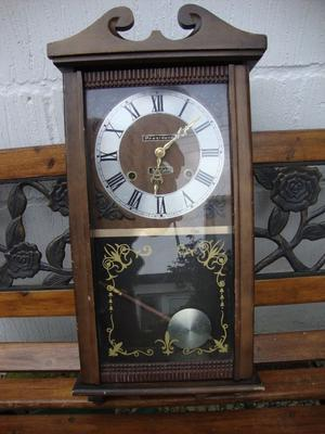President,31 Day,Korean Movement,Pendulum Clock.(Case, Requires Attention).