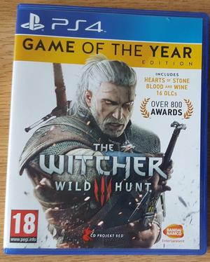 The Witcher 3: Wild Hunt (Game of the Year Edition with expansion packs)