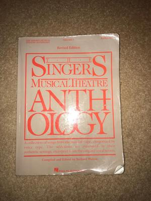 The singers musical theatre anthology volume 1 soprano