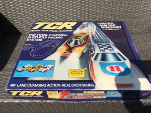 Vintage TCR Scalextric Lighted Jam Car Speedway Set s sealed brand new old stock!!