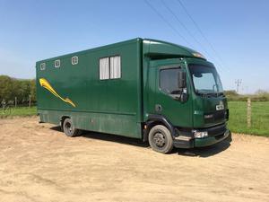 3 Horse 4 Pony Horse Lorry Daf  Turbo 7.5t