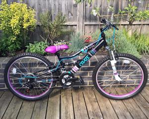 "Apollo Craze Junior Mountain Bike, 24"" wheel, hardly used, mint condition"