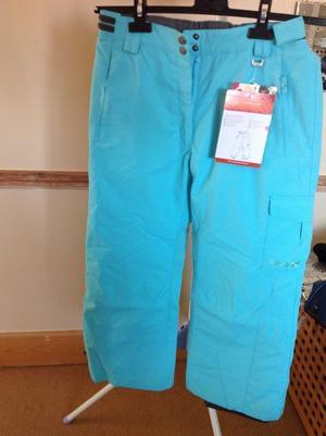 Girls ski trousers age 12