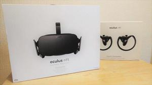 Oculus Rift VR Headset - 2x Sensors and Touch Controllers -