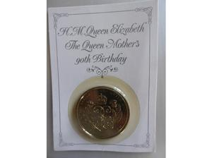 £5 HM Queen Elizabeth The Queen Mother's 90th Birthday in