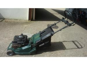 Atco self propelled petrol roller mower in Uckfield