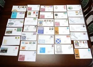 Large Collection of Vintage First Day Covers / Postage Stamps.