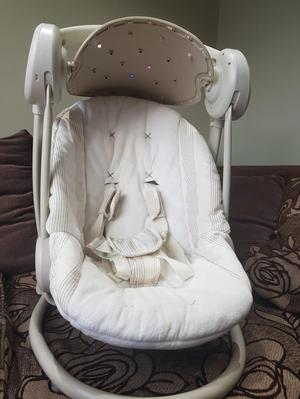Mamas and Papas baby swing. Once upon a time range.