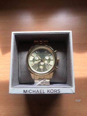Michael kors male gold watch