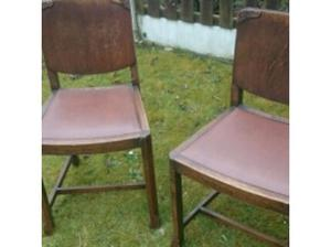 Old chairs in Lytham St. Annes