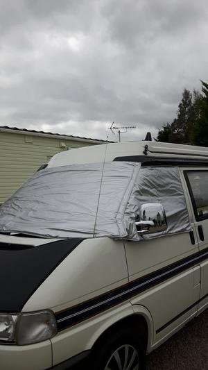 Vw T4 External thermal window covers