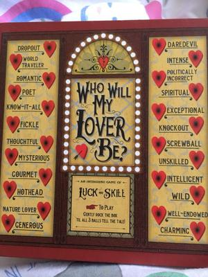 Who will my lover be game