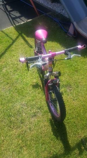 childrens girls bike.