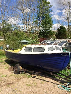 18ft cuddy boat