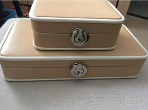 2 jewellery boxes,never used. in Ipswich