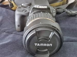 Cannon EOS 100D, 18mp,optical viewfinder, large touch screen, boxed, with lenses, excellent cond