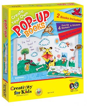 Create Your Own Pop Up Books Children's Creative Play