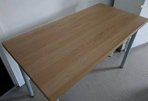Used 3 tables linnmon adils ikea table 120 x 60 posot class for Ikea table 100 x 60