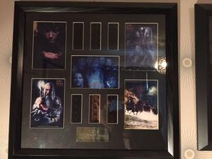 Lord of the Rings Limited Edition Film Cells