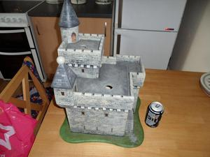 Medium Wooden Toy castle
