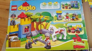 Range of LEGO Duplo sets; zoo, smart builder, knights castle
