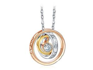 """SWAROVSKI Crystals, Engraved necklace """"Mom I love you"""", Mother's day gift"""