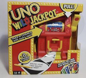 Uno Wild Jackpot Game Brand New In Box