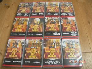 WORLD AT WAR THE GREAT WAR VIDEOS VHS