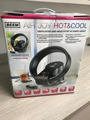 BLADE LESS FAN (hot or cold)